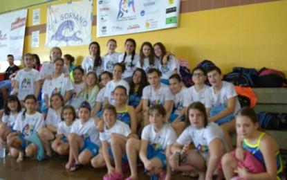 El Club Natación IMD-Ciudad de Segovia deja huella en Medina del Campo