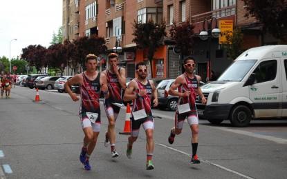 El Club Triatlón Eresma, Campeón Regional, de Duatlón Contrarreloj por equipos
