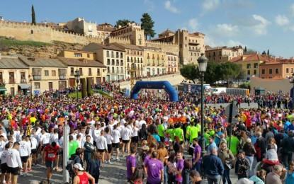 """Participación del Grupo de Psicología en la Media Maratón """"Ciudad de Segovia"""""""