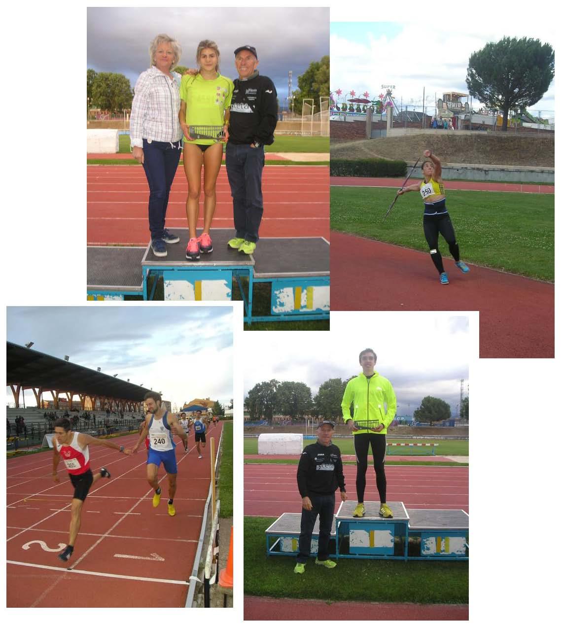 """Excelentes marcas en el Gran Premio """"Ciudad de Segovia"""" Trofeo """"Antonio Prieto"""" de Atletismo"""