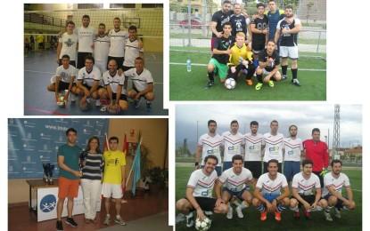 XXXIV Juegos Deportivos Municipales: Fútbol 7 y Fútbol-Sala