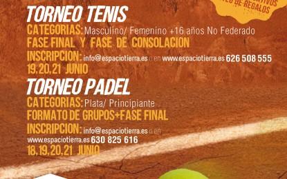 Torneo de Padel y Tenis Ferias y Fiestas 2015