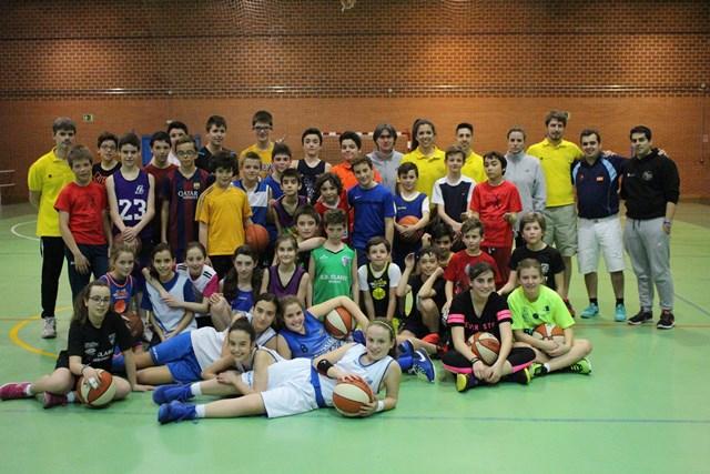 Noventa participantes abren la nueva edición del Centro de Tecnificación de Baloncesto del Instituto Municipal de Depotes de Segovia