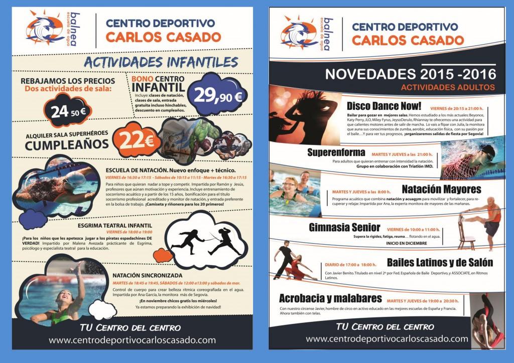 Actividades de la piscina climatizada jos carlos casado instituto municipal de deportes de - Piscina climatizada segovia ...