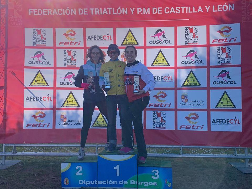 Primera prueba y primer podio para el Club Triatlón IMD Segovia