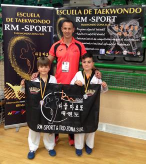 Oro, plata y bronce para el Club RM-Sport & TKD Zona Sur en V Open de Segovia