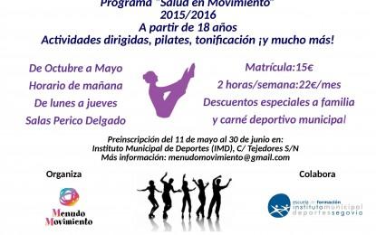 """Programa de """"Salud en Movimiento"""" Curso 2015-16"""