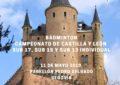 Segovia Sede del Bádmiton Regional