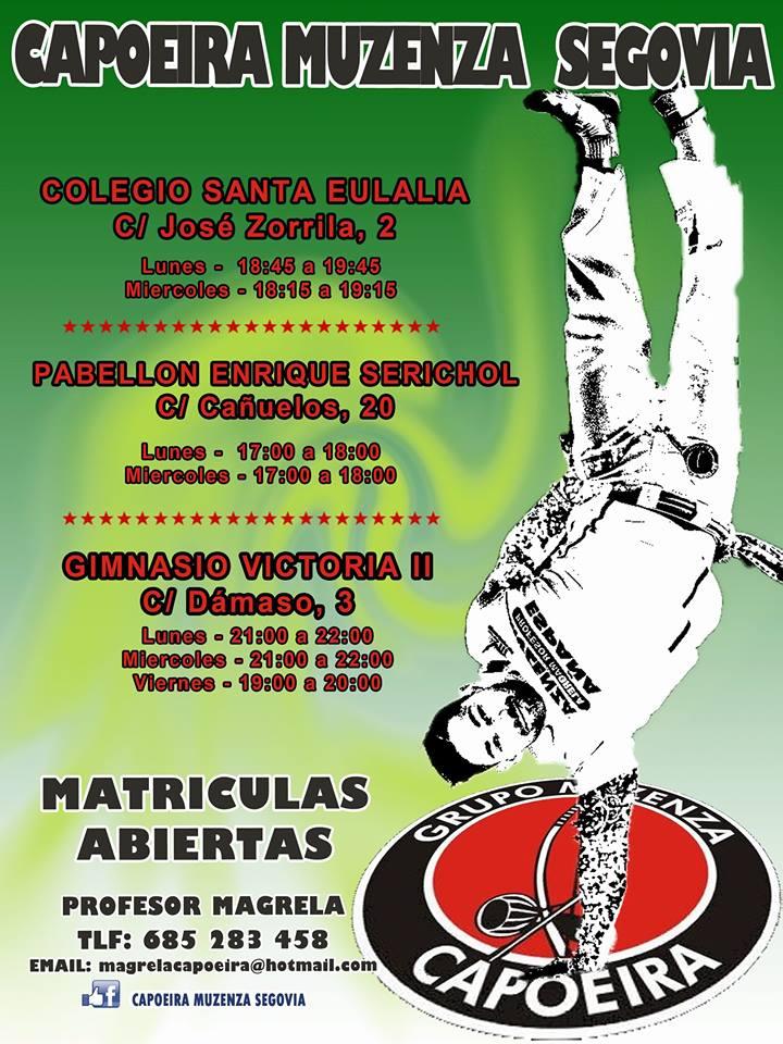 Escuela Municipal de Capoeira: Temporada 2017/18
