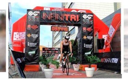 El fondista y triatleta segoviano, Pablo Delgado Merino, se gradúa en la modalidad de Ultraman