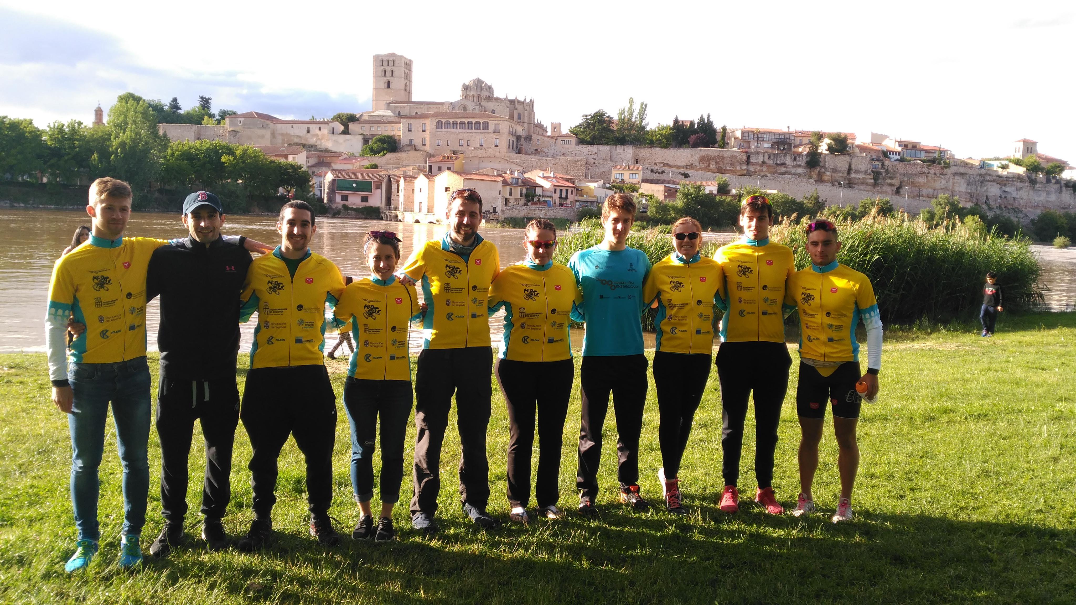 El club Triatlón IMD Segovia Subcampeón Regional de Triatlón Sprint